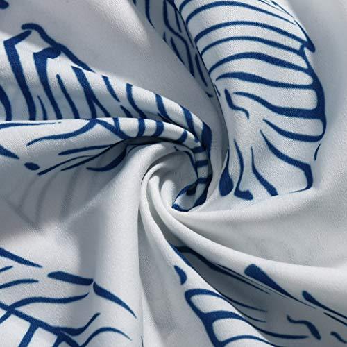 ❤️❤️ Women's Ruffle Tie Summer Boho Spaghetti Strap Semi-Backless Button Down A-Line Midi Dress with Belt Blue by HTHJSCO-Dress (Image #5)