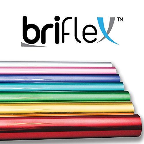 - BriFlex Heat Transfer Metalic Foil Vinyl for T-Shirt and Apparel 20