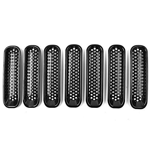 GHB Grille Inserts Wrangler 2007 2015