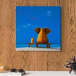 MDF Wall Art 30x30 Centimeter