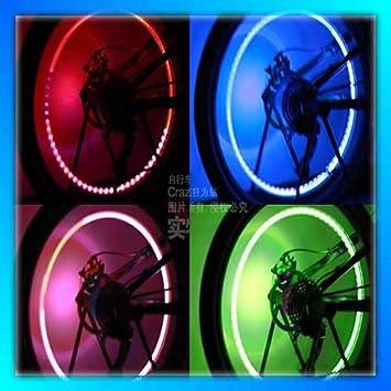 1 Paar Led Ventilkappen Effekt Licht Reifen-Ventil Beleuchtung fürs ...