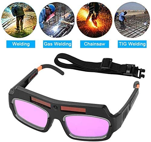 Eyes Goggles Mask Anti-flog Anti-glare Eyes Safety Protective Welder Glasses Mask Helmet with Adjustable Shade Ejoyous 1 Pair of Updated LCD Solar Power Auto Darkening Welding Goggle with String