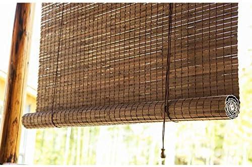 Estor exterior de bambú de lyjml para ventanas, persianas de bambú ...