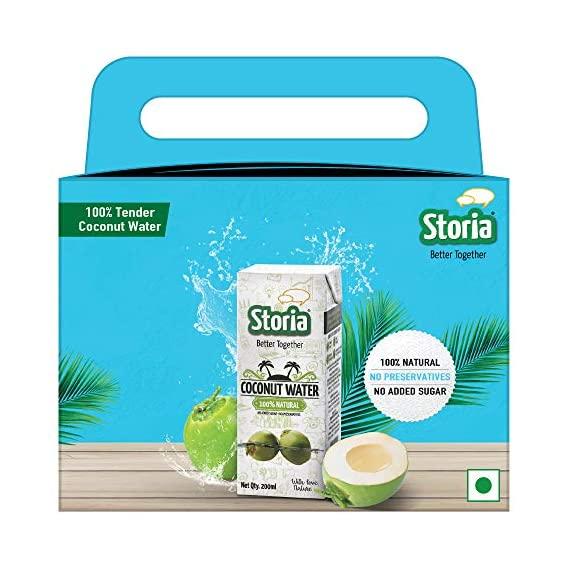 Storia Multipack Coconut Water 8 Piece Pack