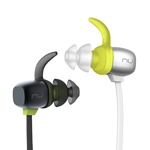Optoma be sport4 NuForce In-Ear inalámbrico Bluetooth auricular (IPX5; magnético, 10 horas de tiempo de batería, AAC; aptX, Quick Charge) Negro: Amazon.es: ...