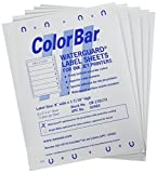 SMEAD COMPATIBLE CB-170173 Color Code Label, Permanent, Inkjet, 8'' x 1 7/16'', White (Pack of 1008)