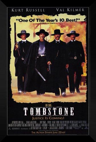 Tombstone FRAMED 27x40 Movie Poster: Kurt Russell