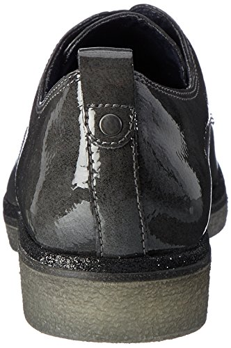Tamaris Damen 23710 Oxfords Grau (Anthracite)