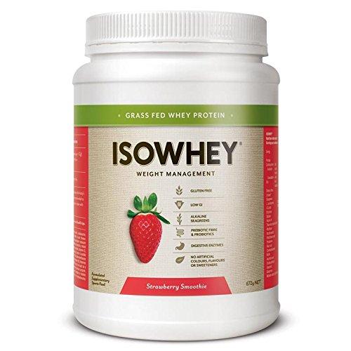 ISOWhey Remplissez Smoothie fraise 672g (21 dessert)