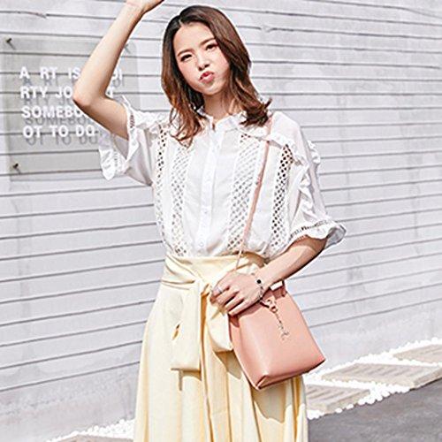 Cover Coin Crossbody Phone Bag Pink Deer Bag Bag KIMODO Fashion Solid Women Shoulder wqxB1Yv1T