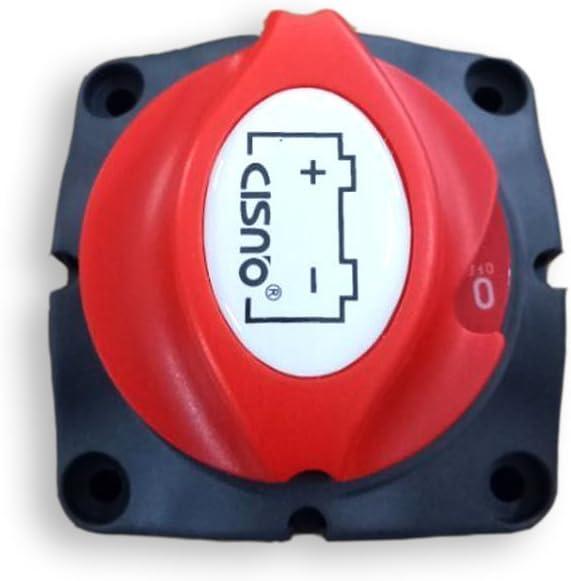 1 Stück Batterieschalter Boot Rv Boot Marine 275 Ampere 2 Position