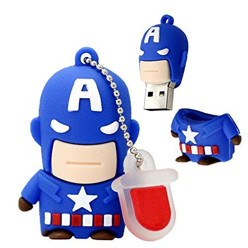 16 gb Captain America 2.0 Usb flash drive - 7