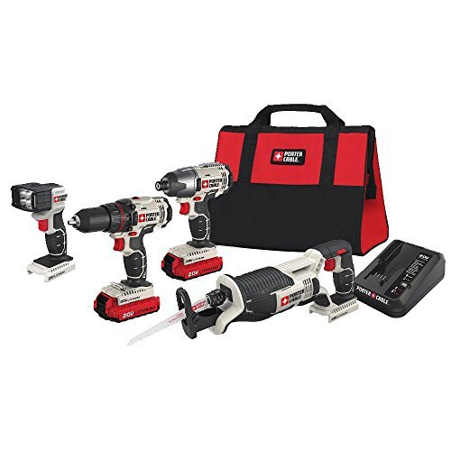 PORTER-CABLE PCCK615L4 20V Max 4-Tool Combo Kit by PORTER-CABLE