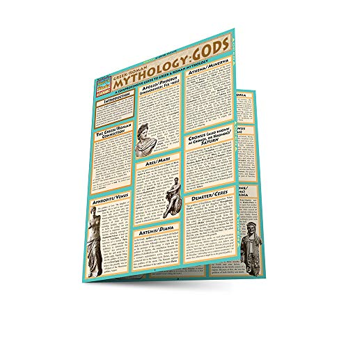 Mythology: Greek/Roman Gods (Quickstudy Reference Guides - Academic) ()