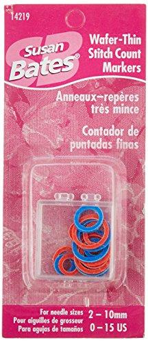 Susan Bates Stitch Marker, 20 Per (Lace Stitch Markers)