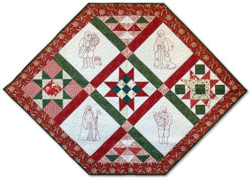 Redwork Santa (Pattern Only)