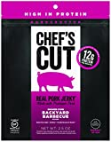 Chef's Cut Gluten Free Real Pork Jerky Snack, Backyard Barbecue, 2.5 Ounce