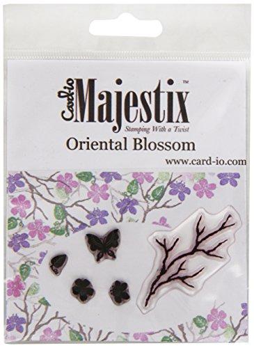 Card-Io Oriental Blossom Peg Stamps