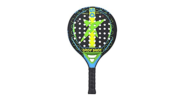 Amazon.com : Drop Shot Bomber L.E. Padel Tennis Racquet, Unisex Adult, Black, 360 - 385 gr : Sports & Outdoors