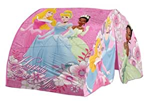 Amazon Com Disney Princess Bed Tent With Pushlight Toys