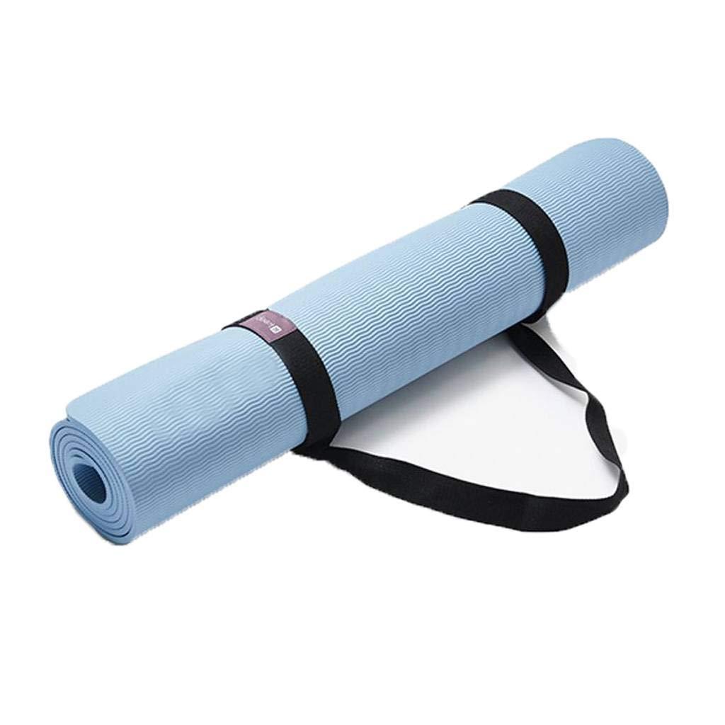 Amazon.com : GOPG Yoga Mat - Fitness Mat 7mm Thick Double ...
