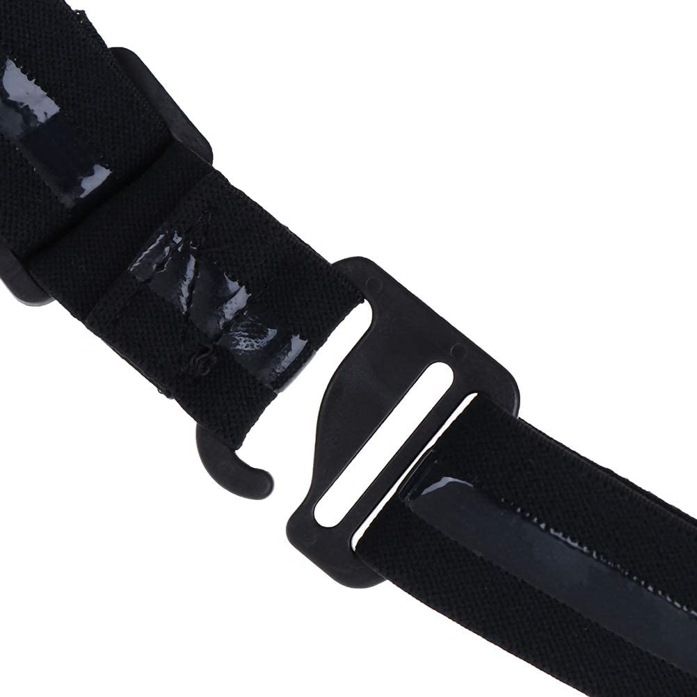 Qingsi 5 Pack Adjustable Shirt-Stay Best Belt Tuck It Belt Shirt Tucked Shirt Stays for Formal and Professional Attire