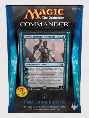 Magic The Gathering Commander 2014 Peer Through Time Deck by Magic: the Gathering