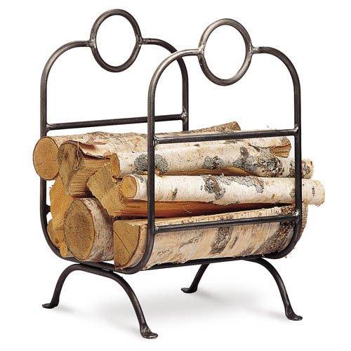 - Pilgrim Forged Iron Log Rack