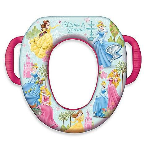Ginsey Disney Baby Soft Potty Seat - Wishes & Dreams Princess (Cinderella, Belle & Aurora)