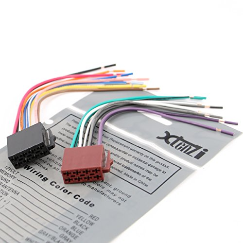 51lUvqxwtwL amazon com xtenzi connection cable set for pioneer appradio sph pioneer sph-da02 wiring diagram at creativeand.co