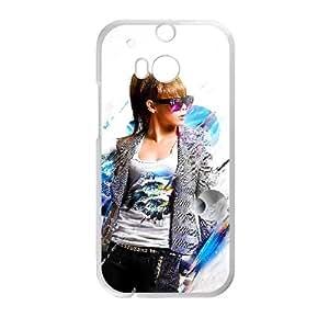 HTC One M8 Cell Phone Case White Minzy Ne Lgddj