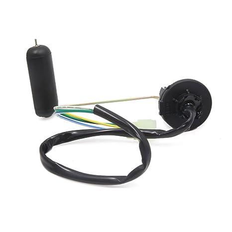 Sourcingmap 3 Cables Flotador Emisor Sensor de Nivel Combustible para Moto Gy6