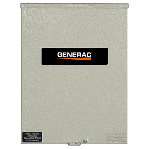 (Genearc RXSC100A3 100 Amp 120/240 Single Phase NEMA 3R Smart Transfer Switch for Standby Generators)