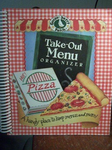 Gooseberry Patch Take-Out Menu - Menu Take Out Organizer