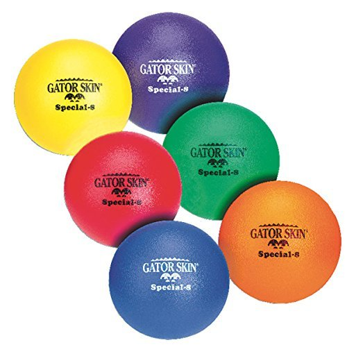 8'' Gator Skin Special Ball-Yellow