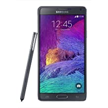 Samsung Galaxy Note 4 SM-N910H Factory Unlocked International Model, Black, Retail Packaging,32 GB