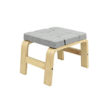 Amazon.com: Silla de yoga con reposacabezas, banco de ...