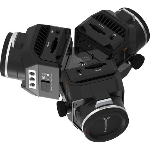 Image of Sports & Action Video Cameras 360RIZE 360Helios 3 360 Plug-n-Play Rig for Blackmagic