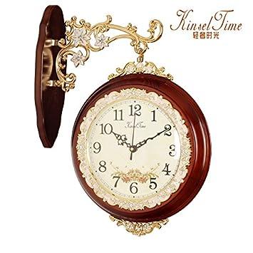 NabothT Reloj de Pared Reloj Creativo para salón Dormitorio Moderno de fabricación: Amazon.es: Hogar