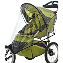 InSTEP Fixed Wheel Jogger Single Stroller Weather Shield in Clear