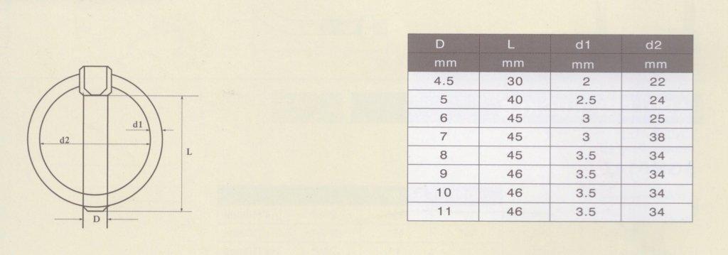 MultiBros confezione da 10//25 perni da 4,5; 6; 9; 10; 11 mm