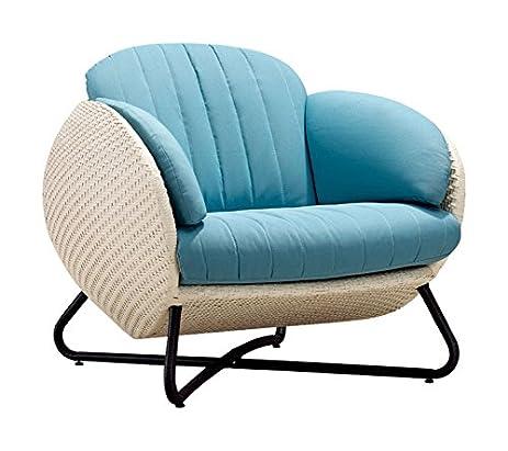 100Essentials Circle Chair, Purple Cushion