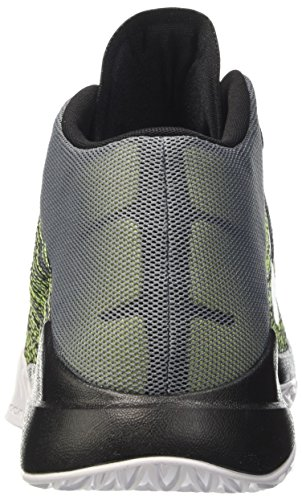 Zoom Basket White Cool Uomo Ascention Scarpe black Nike volt Grey Gris da T7qTd