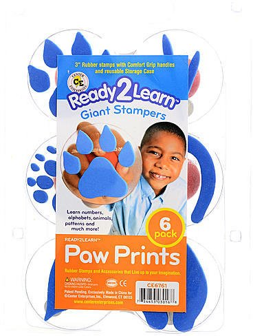 Center Enterprises Ready2Learn Giant Stampers (Paw Prints) 1 pcs sku# 1846131MA