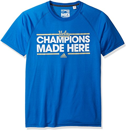Ncaa Ucla Bruins Adult Men Dassler Local Climalite Ultimate S Tee Small Blue