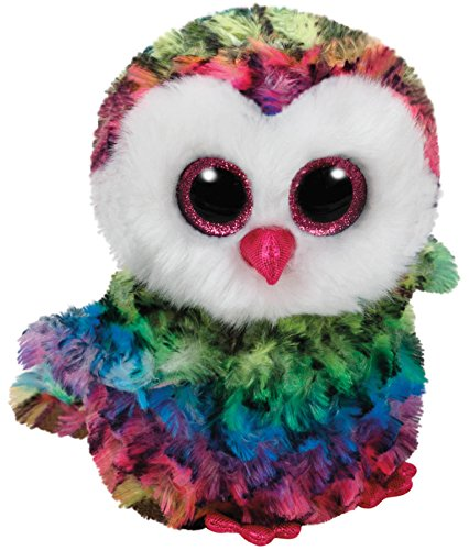 Beanie Baby Owl (TY Beanie Boos Plush - Owen the Owl)