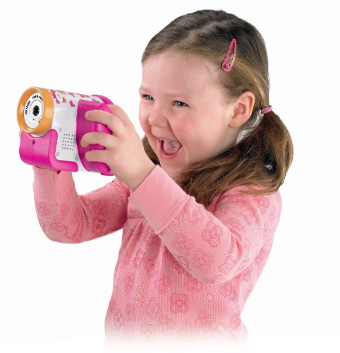 Fisher-Price Câmera Video Filmadora Kid-Touch PINK