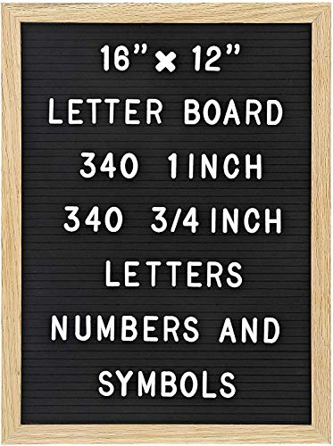 Felt Letter Board with