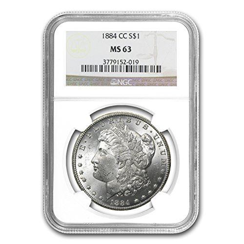 1884 CC Morgan Dollar MS-63 NGC $1 MS-63 NGC