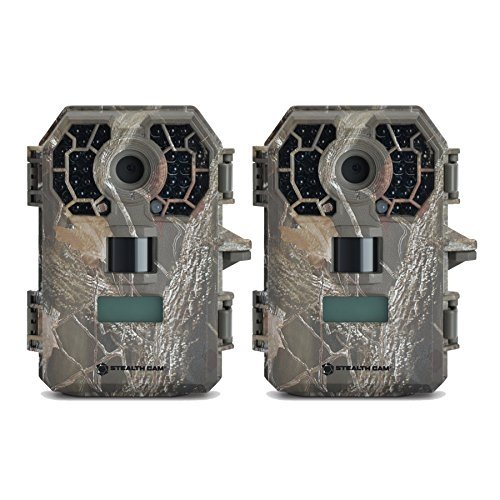 (Stealth Cam (2) G42NG No-Glo Trail Game Cameras 10MP)